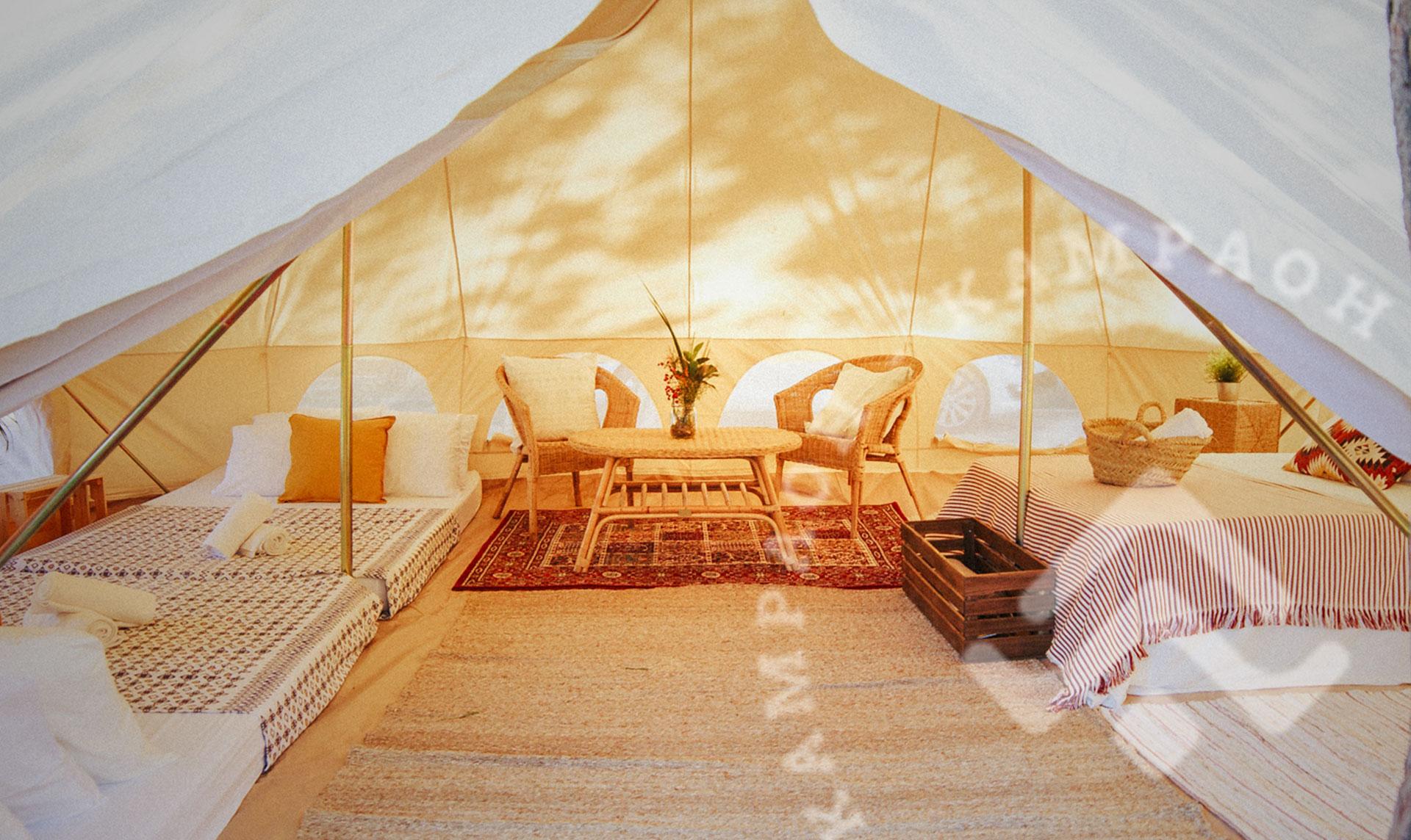 Kampaoh - Campings sin líos! Alquiler de tiendas de campaña todo incluido