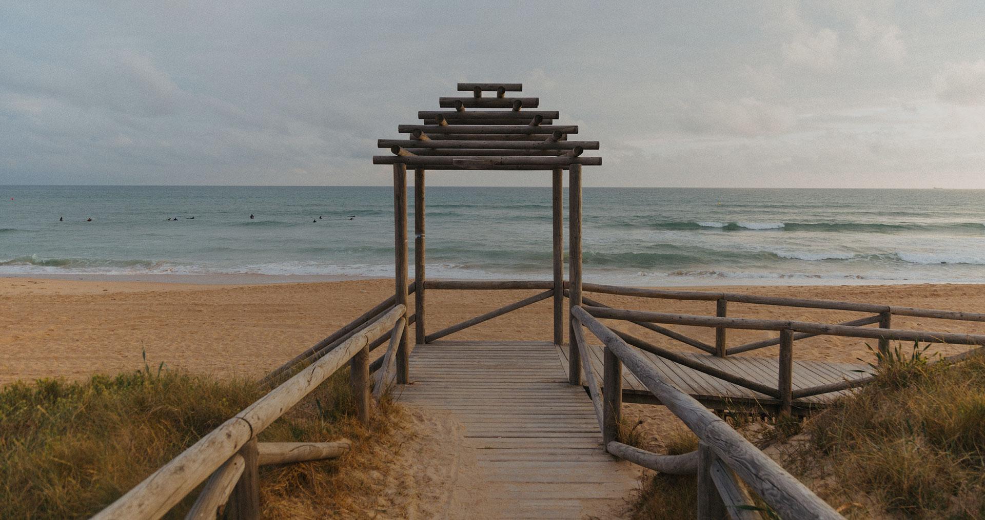 Camping en Cádiz - El Palmar