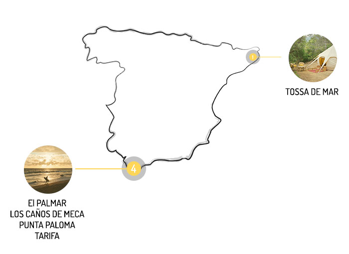 Campings Kampaoh en España