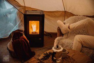 Campings con chimeneas para invierno