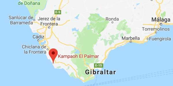 Camping en El Palmar (Cádiz)