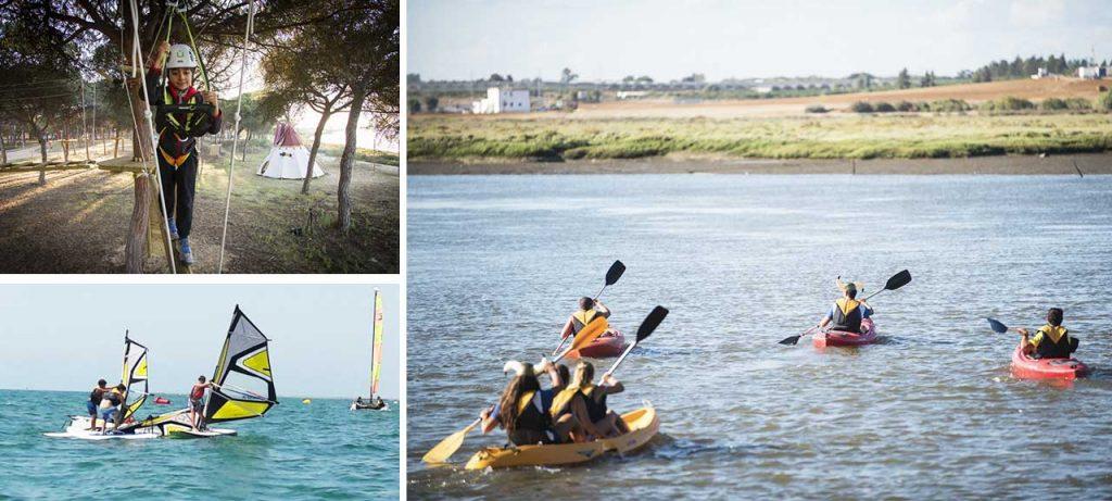 Actividades, aventura y deportes en Isla Cristina - Huelva