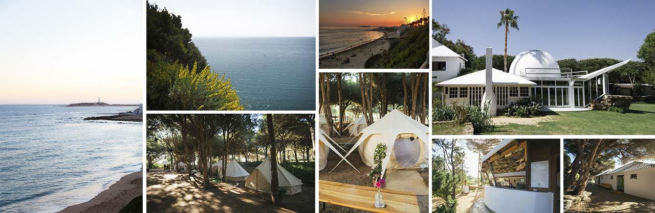 Camping en Caños de Meca - Barbate - Conil - Vejer (Cádiz)