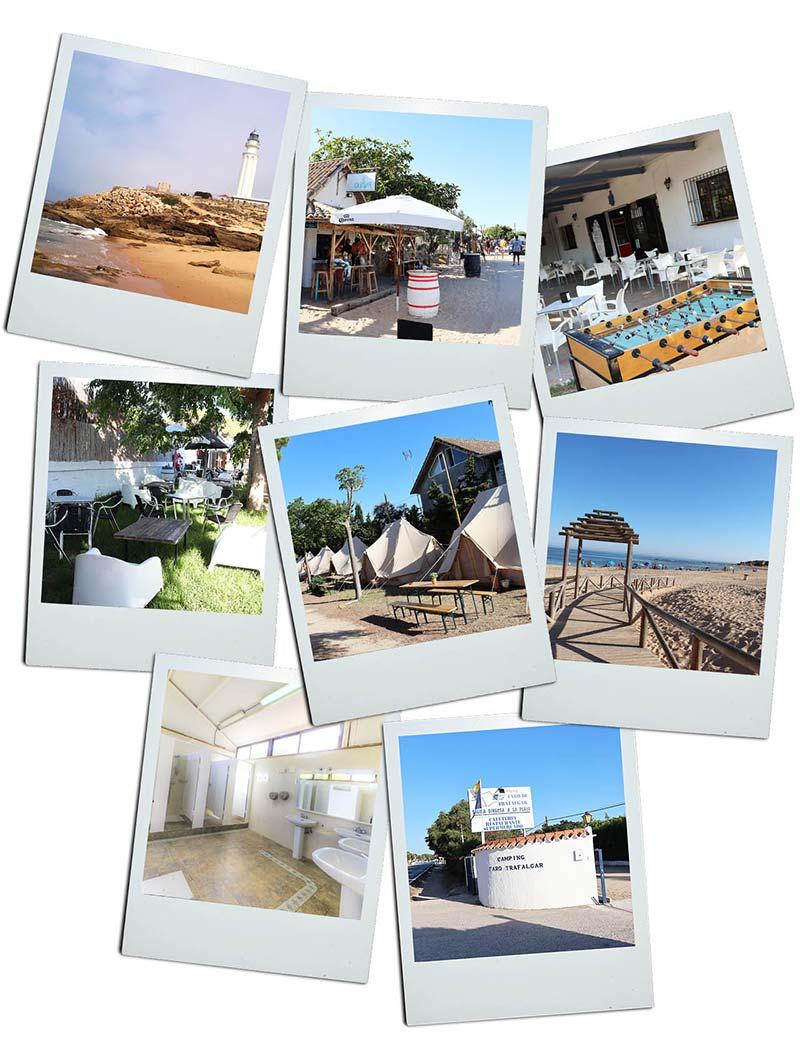 Fotos del Camping Trafalgar en Barbate (Cádiz)