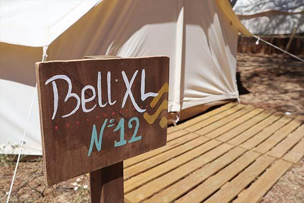 Tiendas todo incluido modelo Bell XL en Kampaoh Isla Cristina