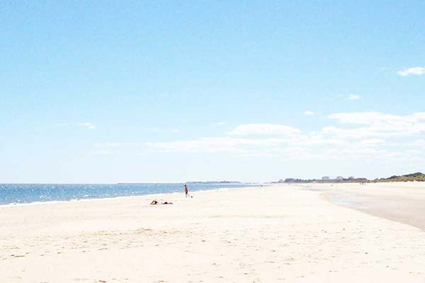 Playa junto a Kampaoh Isla Cristina