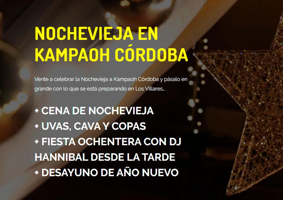 Nochevieja en Kampaoh Córdoba