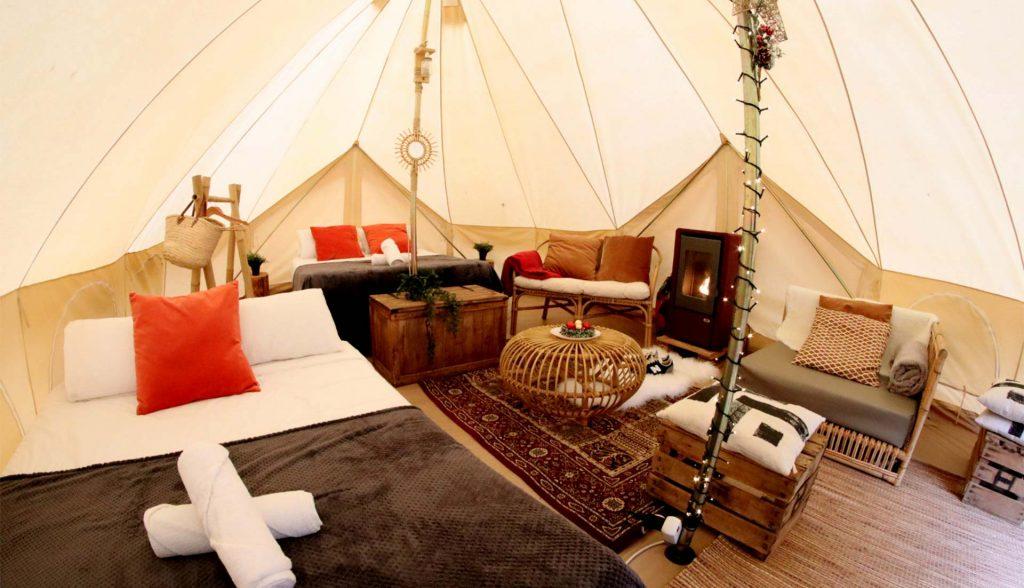 Campings con tienda montada todo incluido en España