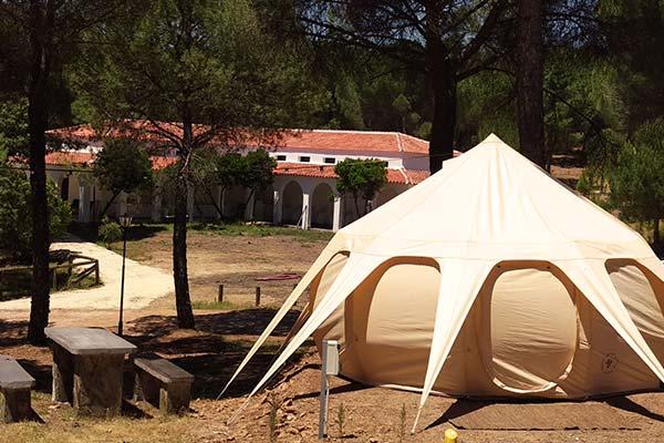 Kampaoh en la sierra de Córdoba