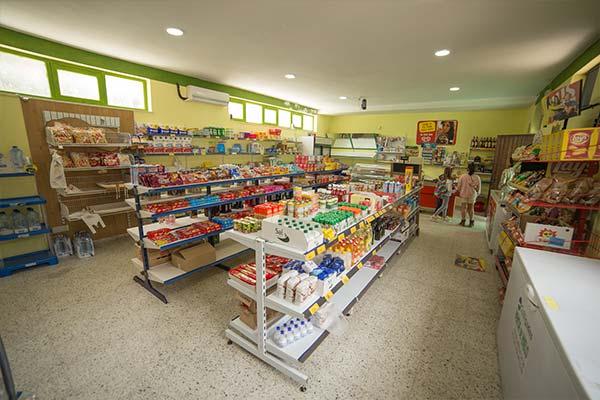 Supermercado del Camping Paloma