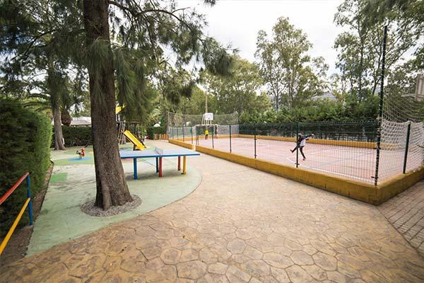 Instalaciones deportivas del camping Paloma (Cádiz)