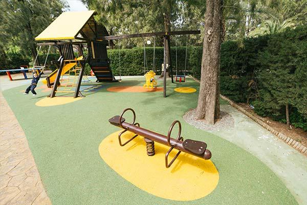 Parque infantil del camping Paloma (Cádiz)