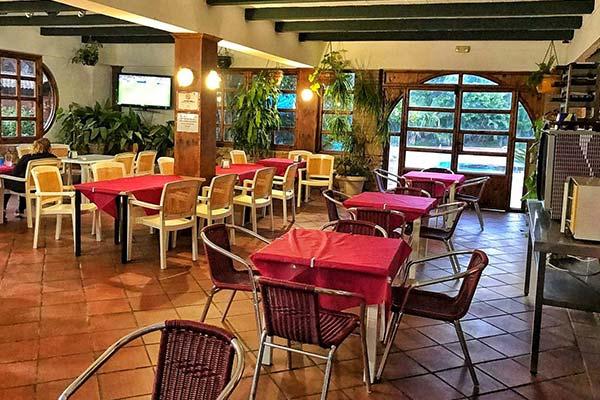 Restaurante en Camping Tarifa