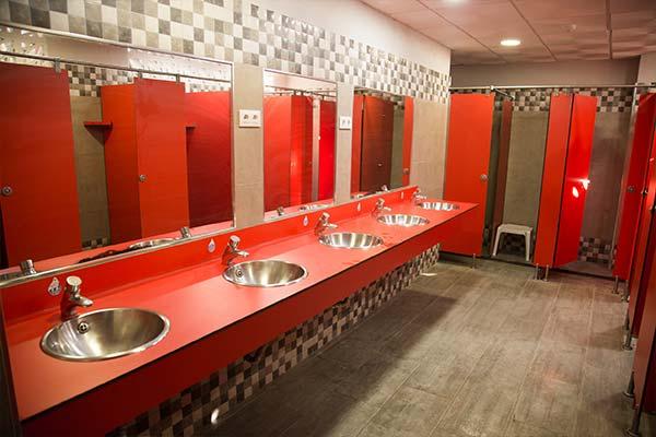 Instalaciones para la higiene personal
