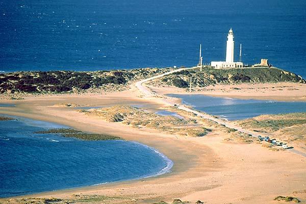 Playas del Faro de Trafalgar