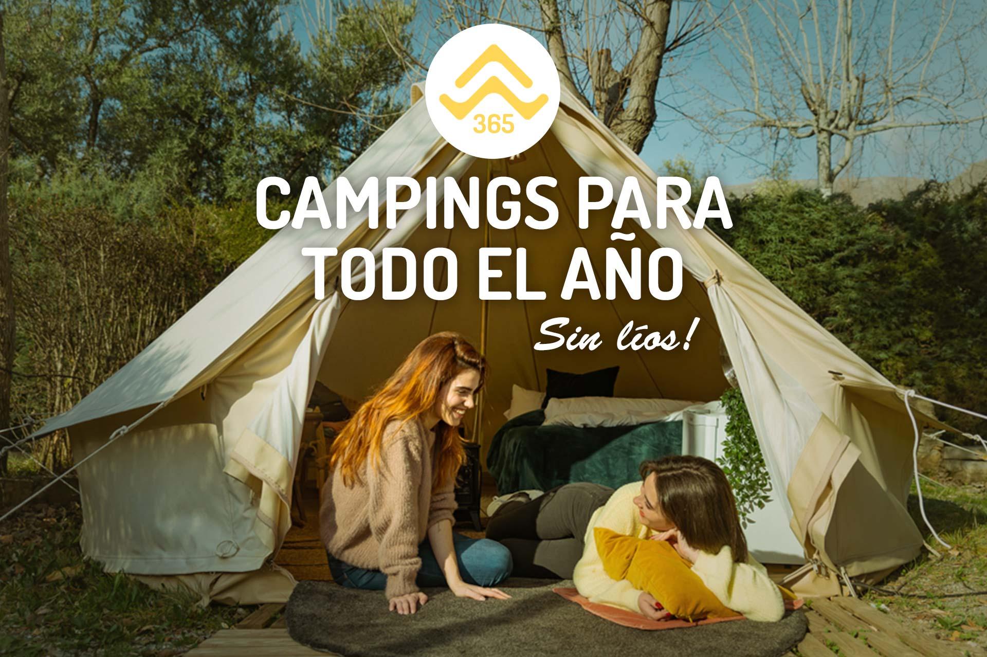 Camping abiertos todo el año