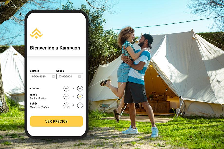 Nueva Web de reservas Kampaoh
