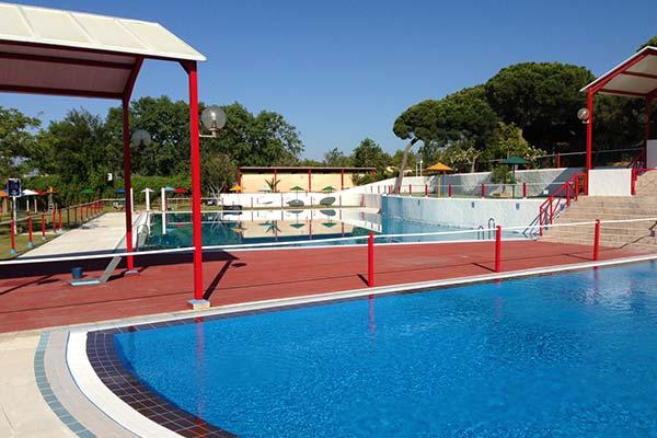 Camping con piscina en El Puerto -Cádiz