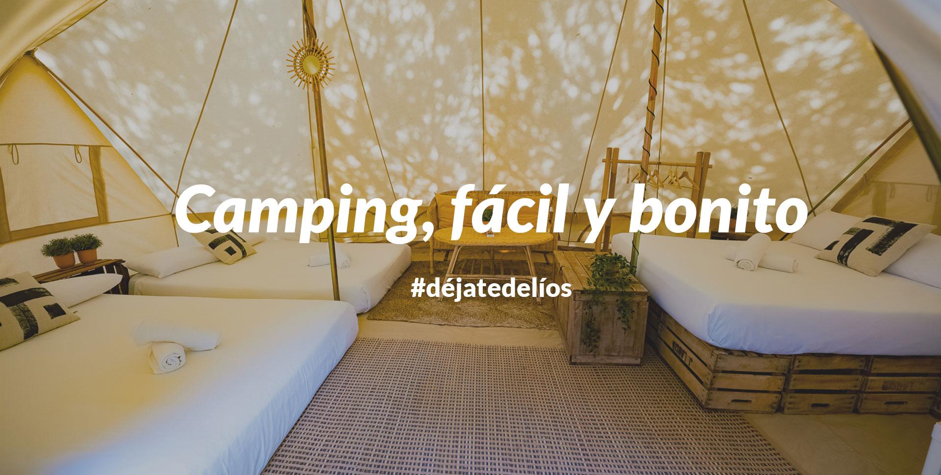 Camping fácil y bonito: Kampaoh