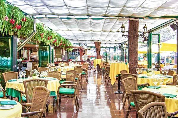 Restaurante del Camping de Marbella