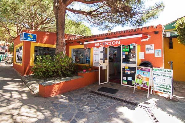 Instalaciones del Camping de Marbella