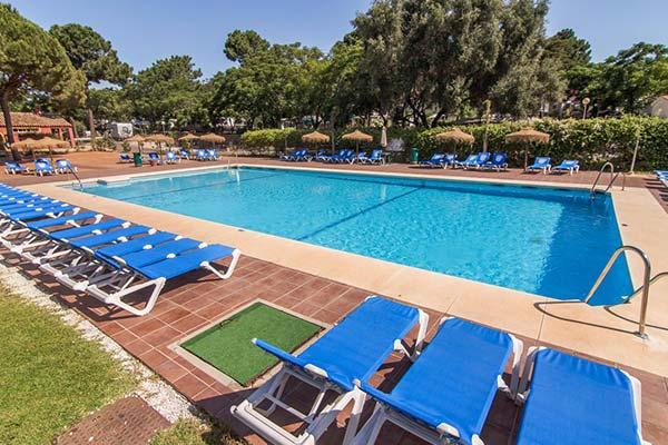 Piscina del Camping de Marbella