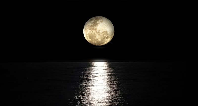 Actividades de observación de la luna en la playa