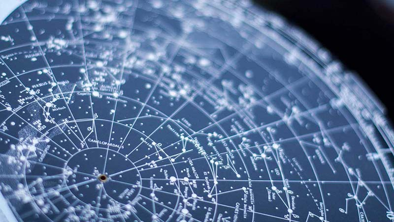 Orientarse para ver las constelaciones