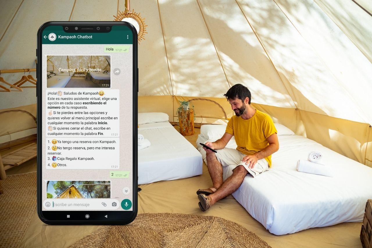 Chat automatizado para campings