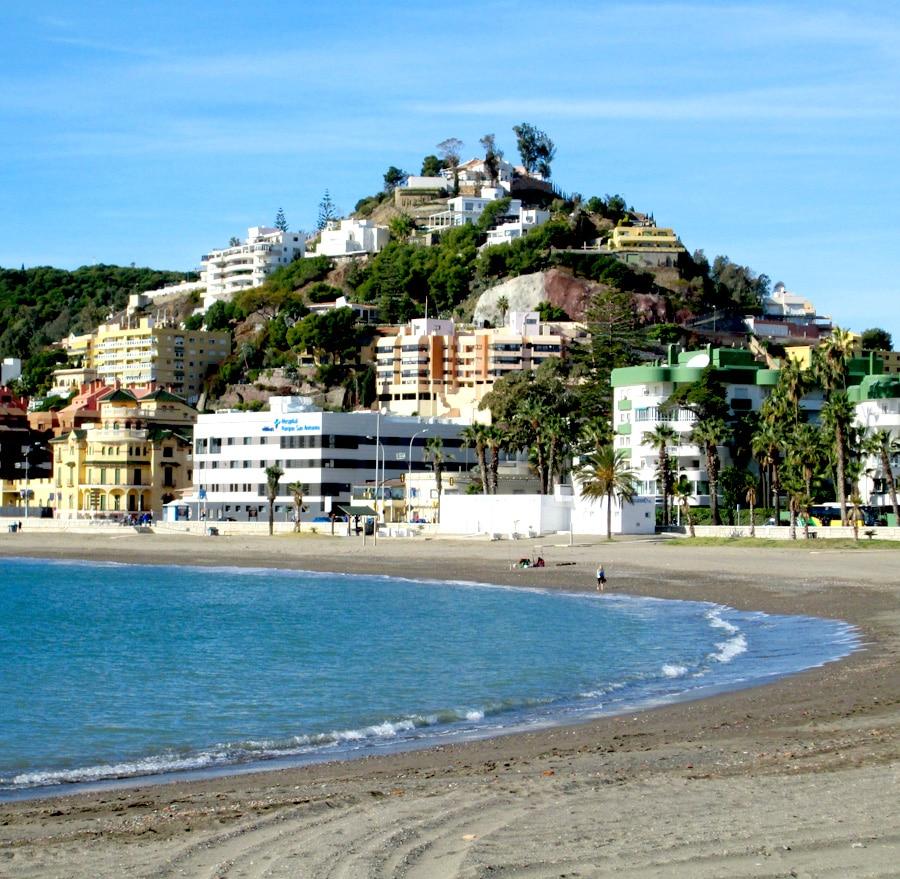 Mejores playas de Málaga Capital