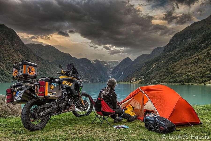 Moto, Camping y libertad