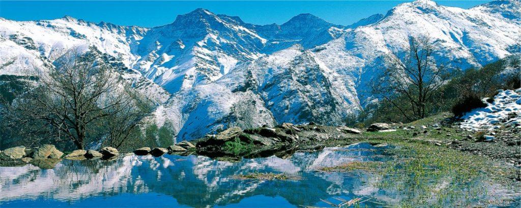 Paisajes naturales Sierra Nevada