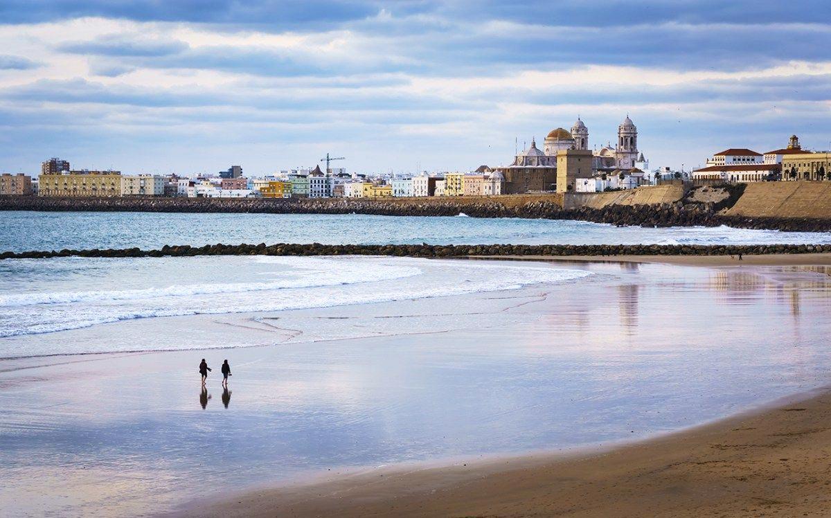 Acampada y playeo en Cádiz