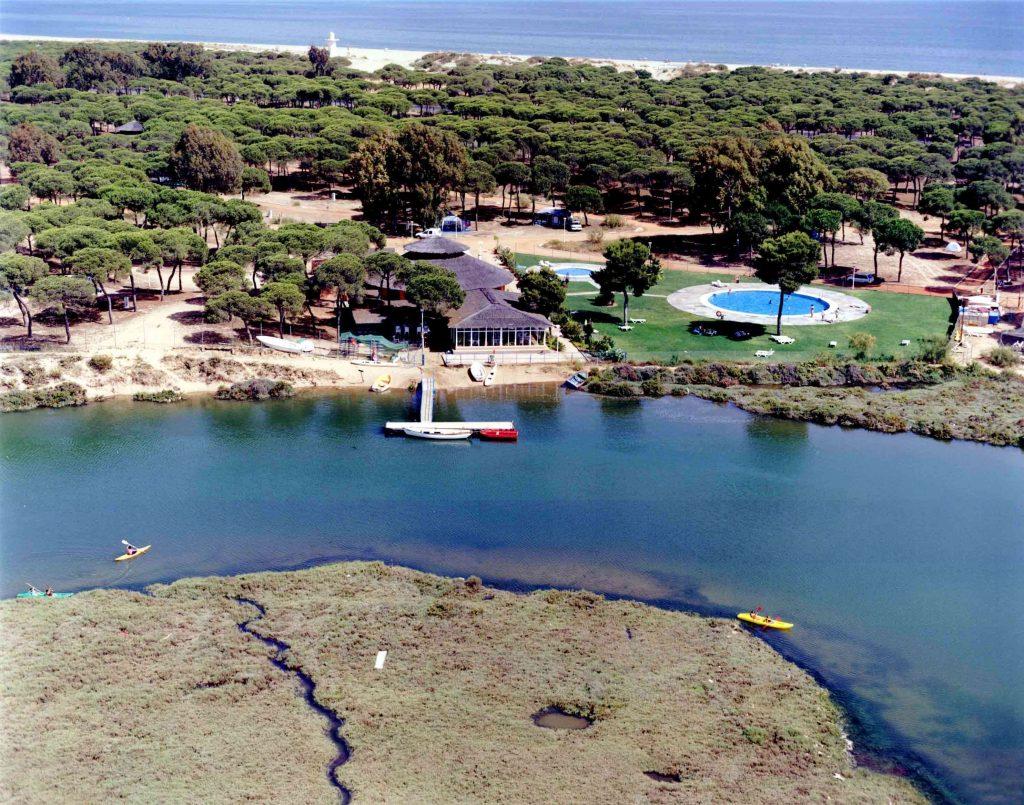 Camping Giralda junto a la playa en Isla Cristina, Huelva